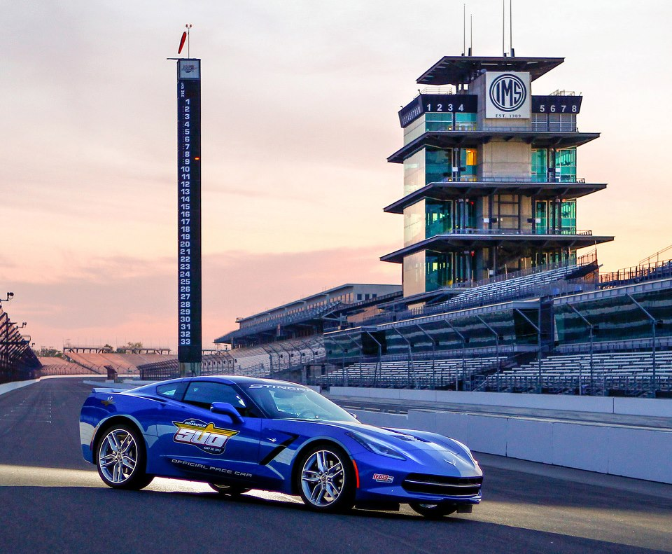 2014 Chevrolet Corvette Stingray Indy 500