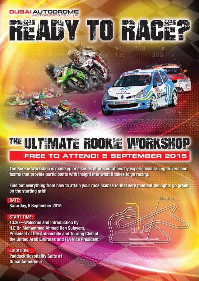 Dubai Autodrome Rookie Workshop