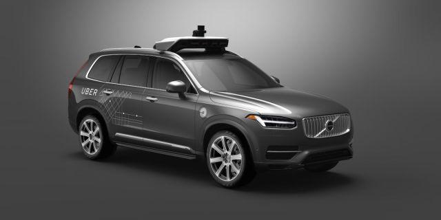 Uber Volvo SUV